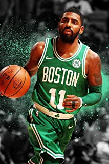 By Be the Bestest Rare Poster Kyrie Irving Boston Celtics Basketball 12 x 18 Inch Poster Rolled