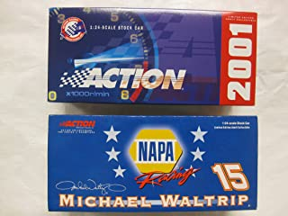 Nascar Michael Waltrip #15 NAPA / Stars & Stripes '01 Monte Carlo LE 1 of 28,092 1:24 Scale Car by Action Racing Collectables