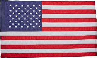 Best Annin Flagmakers Model 21850 American Flag Nylon SolarGuard NYL-Glo, 2 ½ x 4 ft, 100% Made in USA with Sewn Stripes, Embroidered Stars and Banner-Style Pole Sleeve Review