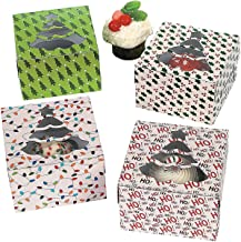 Fun Express 1 X Christmas Holiday Cupcake Boxes - 12 Pack