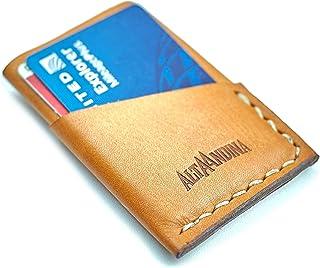 Sponsored Ad - Alta Andina Slim 3 Pocket Leather Wallet | Minimalist, Vegetable Tanned Leather Card Holder | 3 Slots For B...