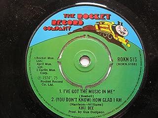 Dee, Kiki Kiki Dee EP Rocket ROKN 515 EX 1975 tracks: Loving And Free/Amoureuse/I've Got The Music In Me/How Glad I Am