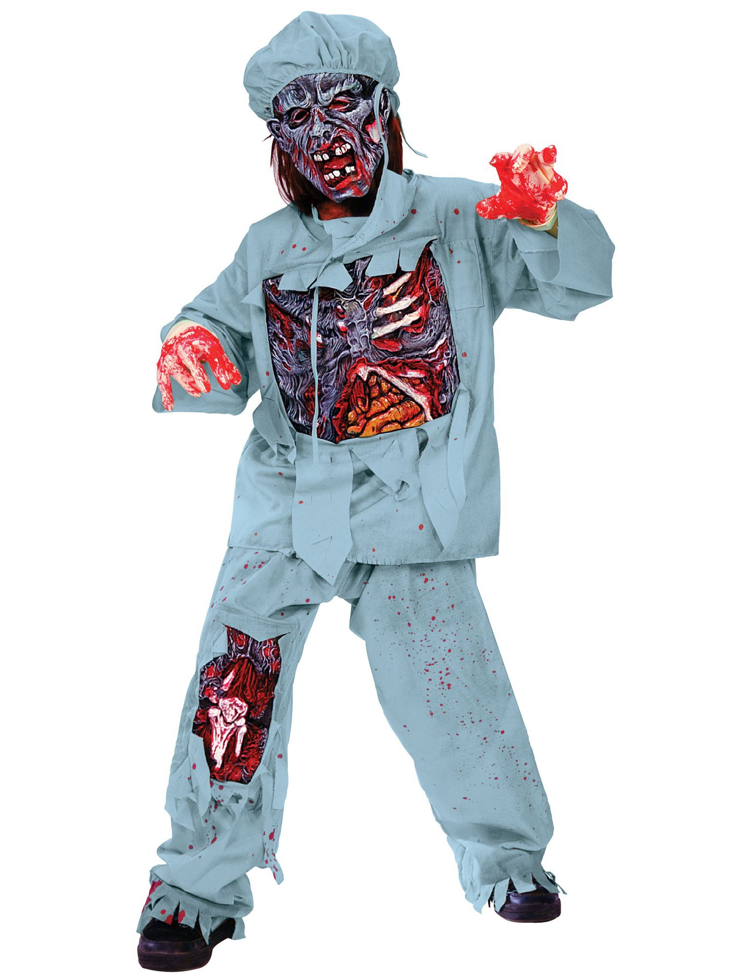 Disfraz de Doctor Zombi Infantil Halloween: Amazon.es: Juguetes y ...