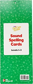 Open Court Reading Sound Spelling Wall Cards, Level 1-3