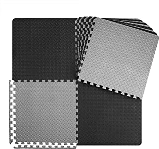 innhom Gym Flooring Mat Interlocking Foam Mats Puzzle Exercise Mat with EVA Foam Floor Tiles for Gym Equipment Workouts, 1...