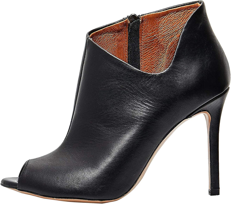 Faina Elegante Peeptoe Ankle Stiefel Damen Damen 52002184  mehr Rabatt