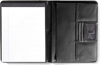 Leatherology Black Onyx Left Handed Deluxe Folio