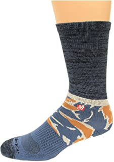 New Balance unisex-adult LAS20461 1 Pack Tiger Camo Crew Socks Casual Sock