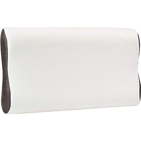 Amazon Basics Oreiller en mousse visco-élastique pour le soutien du cou - 60 x 35 x 11/7/11 cm