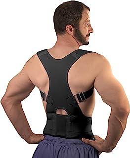 Best Back Brace Posture Corrector for Men & Women (Large - Waist 30