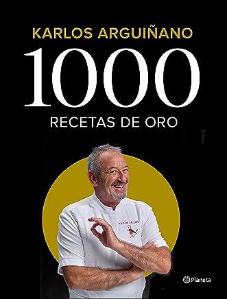 libros para deleitarse - 1000 recetas de oro