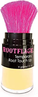 Rootflage Instant Blonde Root Touch Up Hair Powder - Temporary Hair Color, Root Concealer, Thinning Hair Powder and Concealer- Choose from 25 Colors (04 WARM BLONDE)