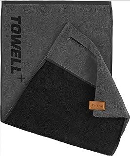 STRYVE Towell V2 + Toalla deportiva con bolso y clip magné