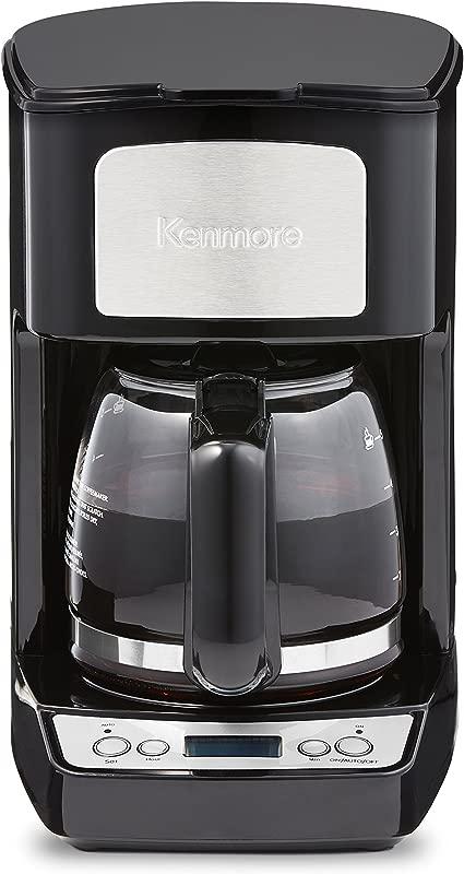 Kenmore 80509 5 Cup Digital Coffee Maker In Black