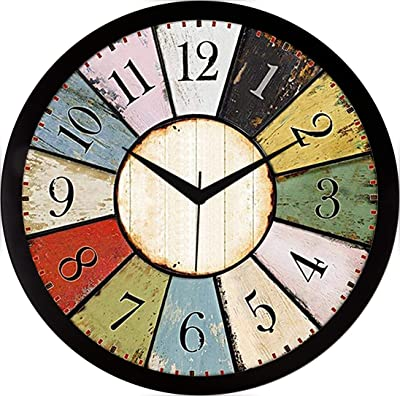 RAG28 11.75 Inches Designer Wall Clock for Home/Living Room/Bedroom/Kitchen (9237)