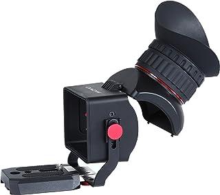 Visor para Vídeo con Pantalla LCD 3X Universal Movo Photo VF40 con Ocular con Tapa Flip-Up para Cámaras DSLR Canon EOS Nikon Sony Alpha Olympus & Pentax - para Pantallas de 3- 3.2
