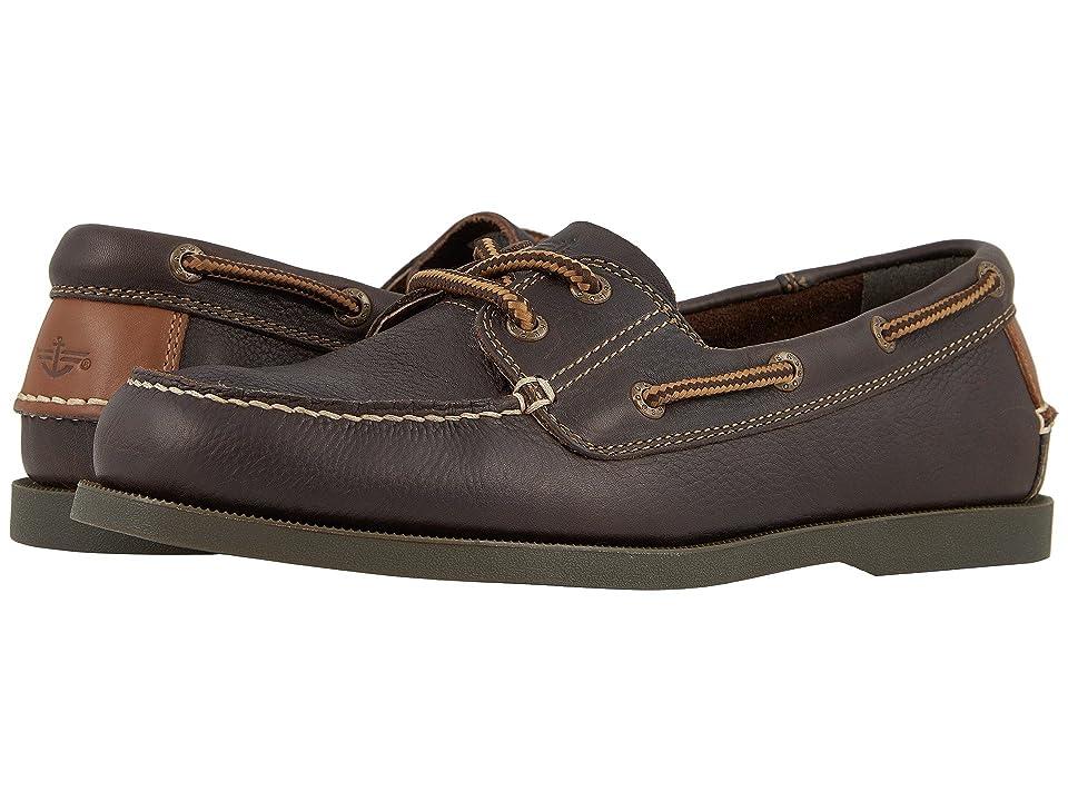 Dockers Vargas Boat Shoe (Chocolate Oiled Tumbled Full Grain) Men