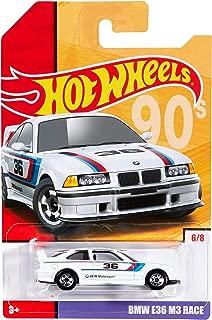 Throwback Hot Wheels 2019 Exclusive Set of 8 Moris Mini,'65 Ford Mustang,Custom Datsun 240z,'86 Monte Carlo SS,'85 Honda City Turbo,BMW E36 M3 Race,Bone Shaker & Cadillac Elmiraj