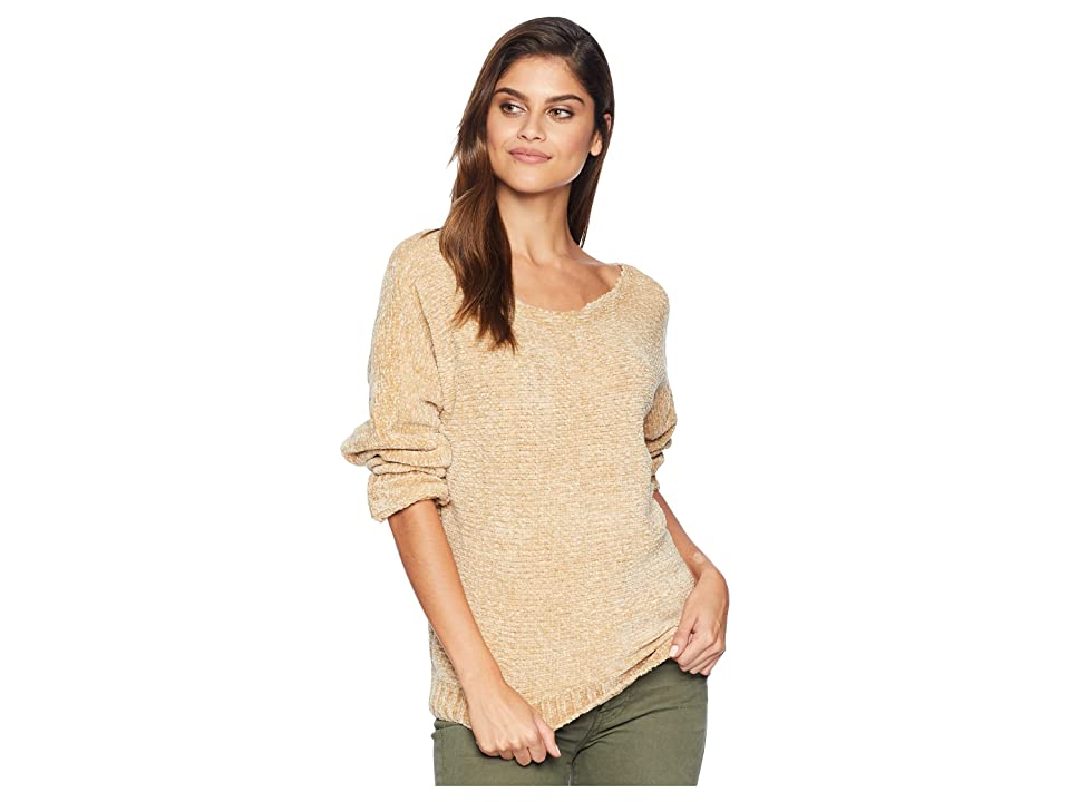 kensie Soft Chenille Sweater KS0U5005 (Ginger Root) Women