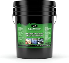 Liquid Rubber Waterproof Sealant, Black 5 Gallon