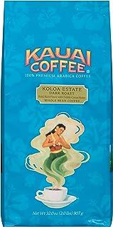Kauai Whole Bean Coffee, Koloa Estate Dark Roast – 100% Premium Arabica Whole Bean Coffee from Hawaii's Largest Grower - B...