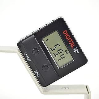 GemRed Magnetic Digital Level Box Protractor Angle Finder Level Gauge Bevel Gage Inclinometer (82421 Mini Angle Gauge)