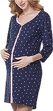 Bellivalini Camicia da Notte Premaman Manica 3/4 BLV50-115