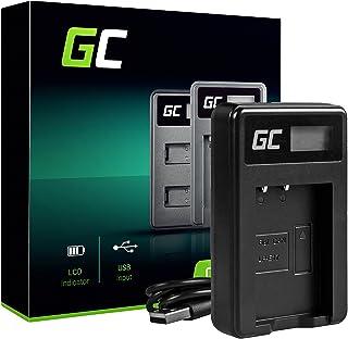 Green Cell Cargador para Canon EOS Rebel T7i Cámara (5W 8.4V 0.6A Negro)