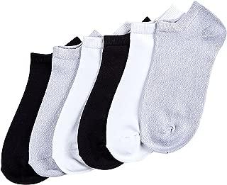 HUE womens U20032 Supersoft No Show Liner Socks 6 Pair Pack Liner Socks