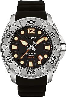 Bulova - 96B228 Sea King Reloj analógico de Cuarzo japonés para Hombre