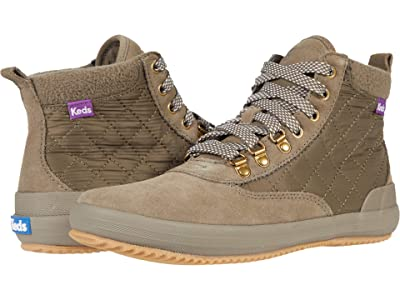 Keds Scout Boot II Suede Nylon WX (Bungee Cord Olive) Women