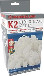 Marineland K2 Biological Media 95 Grams, For Biological Aquarium Filtration, Fits Penguin And Emperor Pro Media Baskets