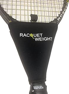 Tennis Racquet Weight Training Aid