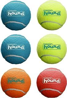 Outward Hound Squeaker Ballz Fetch Dog Toy, Medium, 6-Pack