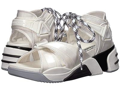Marc Jacobs Somewhere Sport Sandal with Sock (White Multi) Women
