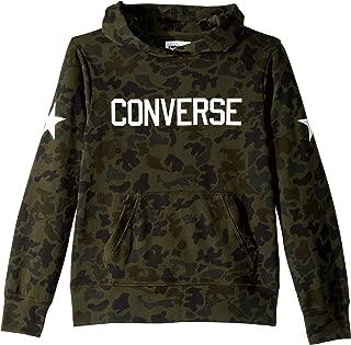 Converse Kids Boy's Heritage Camo Pullover Hoodie (Big Kids)