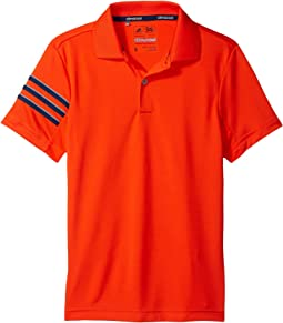 adidas Golf Kids Climacool 3-Stripes Polo (Big Kids)