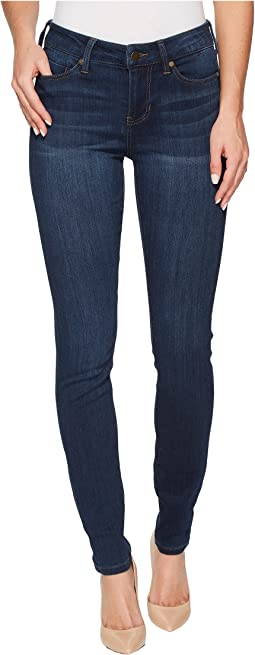 Abby Skinny Jeans in Silky Soft Stretch Denim in San Andreas Dark