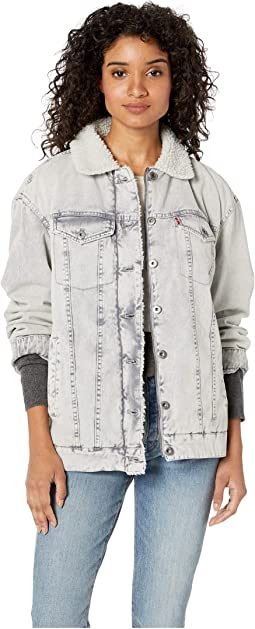 Sherpa Lined Long Line Trucker