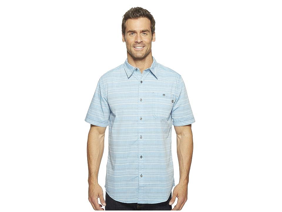 Marmot Pismo Short Sleeve (Slate Blue) Men
