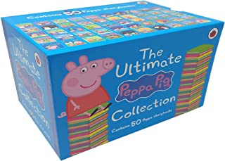 The Ultimate Peppa Pig Collection Set (Peppa's Classic 50 Storybooks Box Set, Age 3-6)