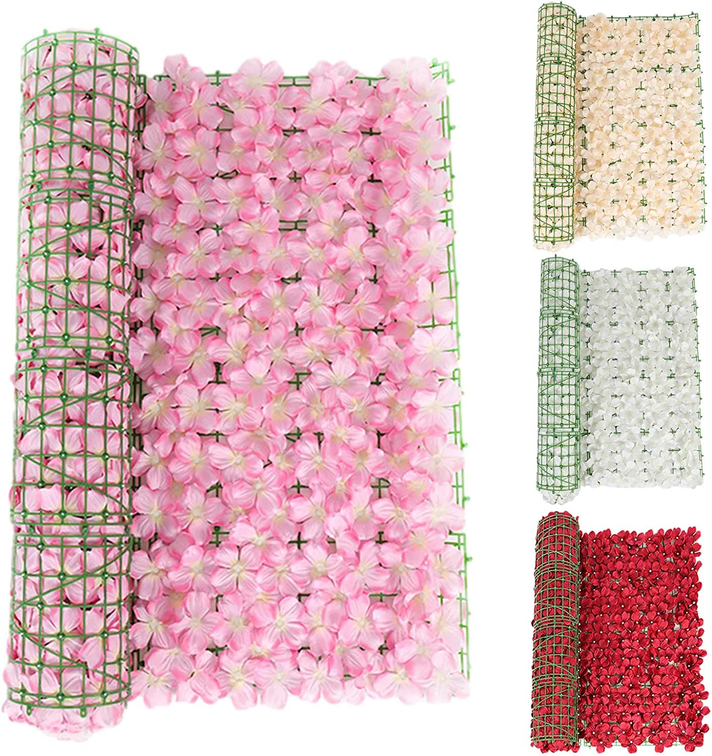 Artificial Hedge Gifts Fence Screening supreme Flowers Ivy Sc with