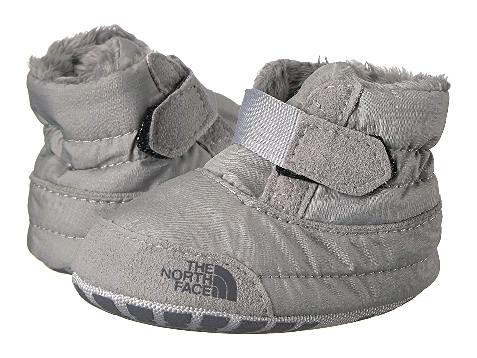 The North Face Kids Asher Bootie (Infant/Toddler) (Griffin Grey/High-Rise Grey) Boys Shoes