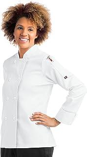 Women's Long Sleeve Chef Coat (S-XL, 2 Colors)