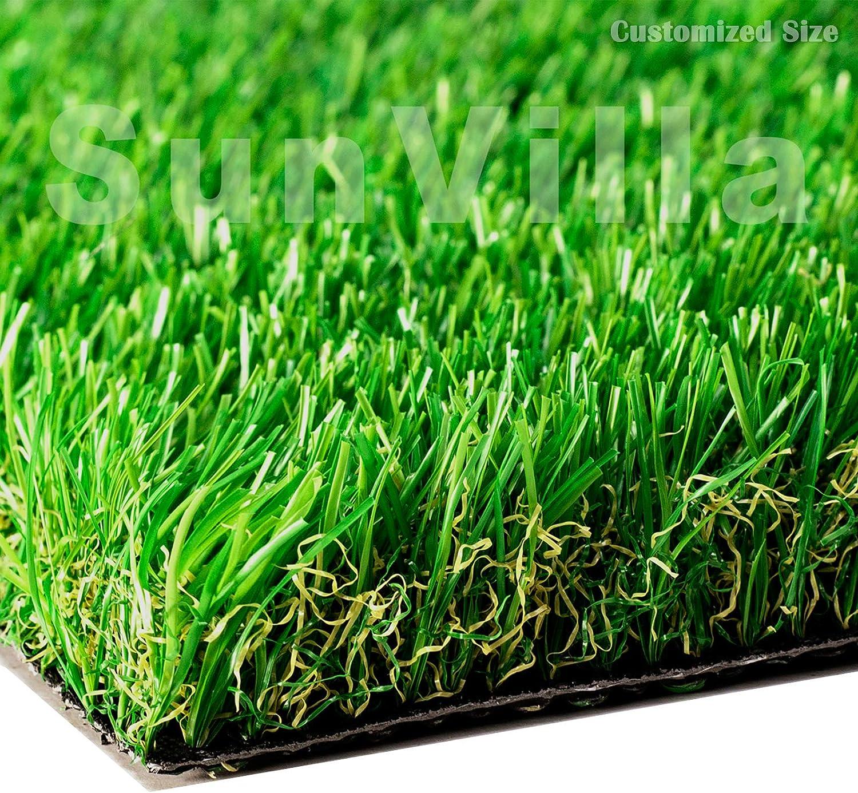 Translated SunVilla 7'X7' Artificial Grass Realistic 【 Customized Austin Mall ã Sizes