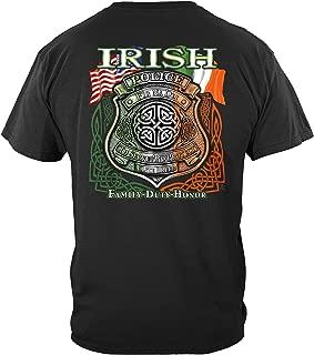 Thin Blue Line T Shirt - Law Enforcement Gear for Men - Law Enforcement - THD050