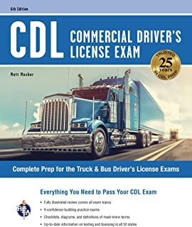 CDL - Commercial Driver's License Exam, 6th Ed. (CDL Test Preparation)