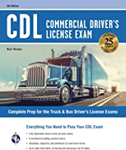CDL – Commercial Driver's License Exam, 6th Ed.: Everything You Need to Pass Your CDL Exam (CDL Test Preparation) PDF
