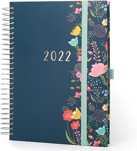 Boxclever Press Mon Agenda au Quotidien A5 agenda scolaire 2021 2022. Agenda 2021 2022 semainier de mi-août 21 à déc ...
