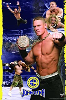 Trends International  WWE Action John Cena Wall Poster 22.375 x 34